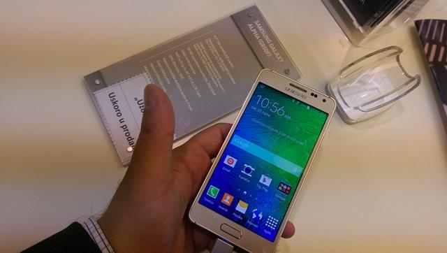 Samsung Galaxy Alpha Zagreb