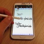 Test Samsung Galaxy Note 2