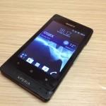 Test Sony Xperia go