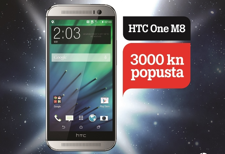 HTC One M8 Tele2
