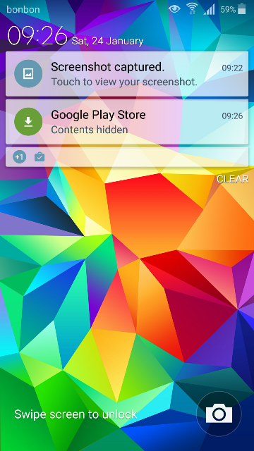 Samsung Galaxy S5 notifikacije Android 5.0