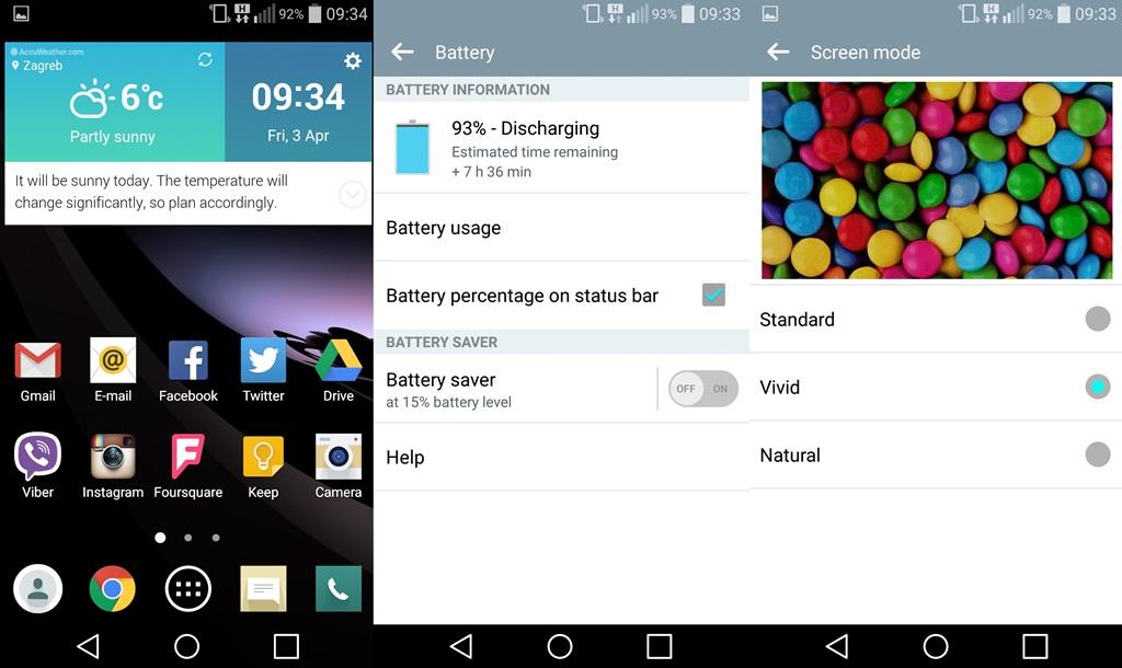 LG G Flex2 screenshot