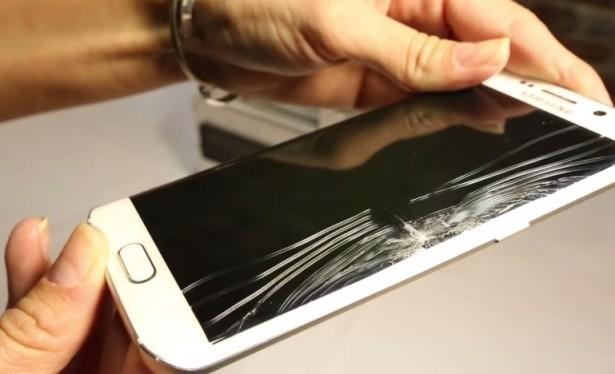 Samsung Galaxy S6 edge bend