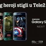 """U Tele2 Samsung Galaxy S6 i S6 edge s herojima filma   """"Osvetnici"""""""