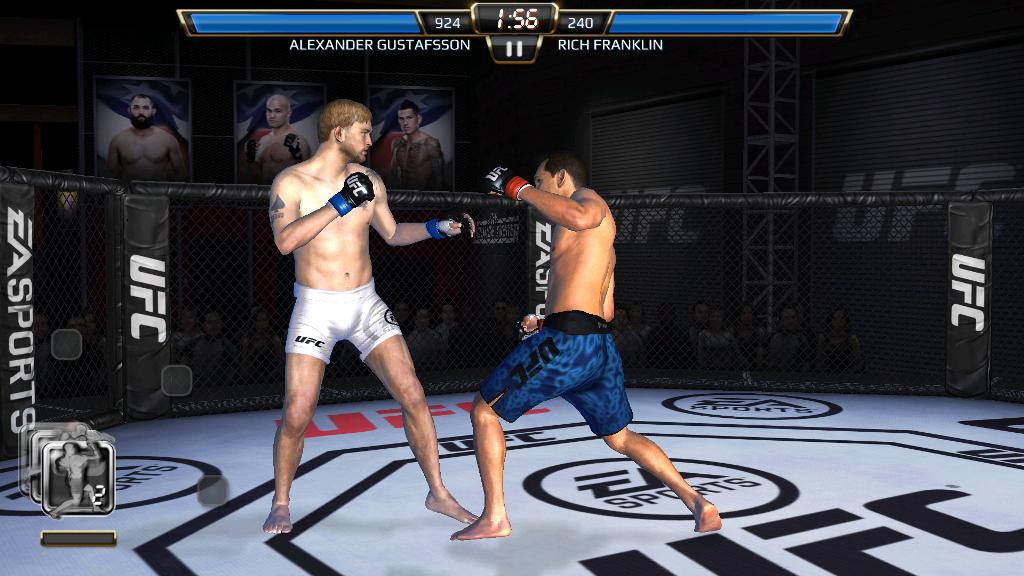 UFC Mobile borba