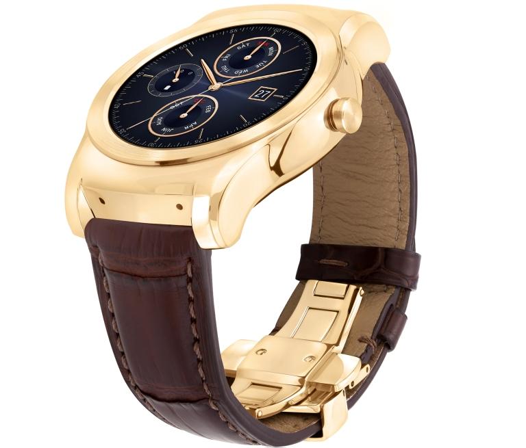 LG Watch Urbane Luxe Side