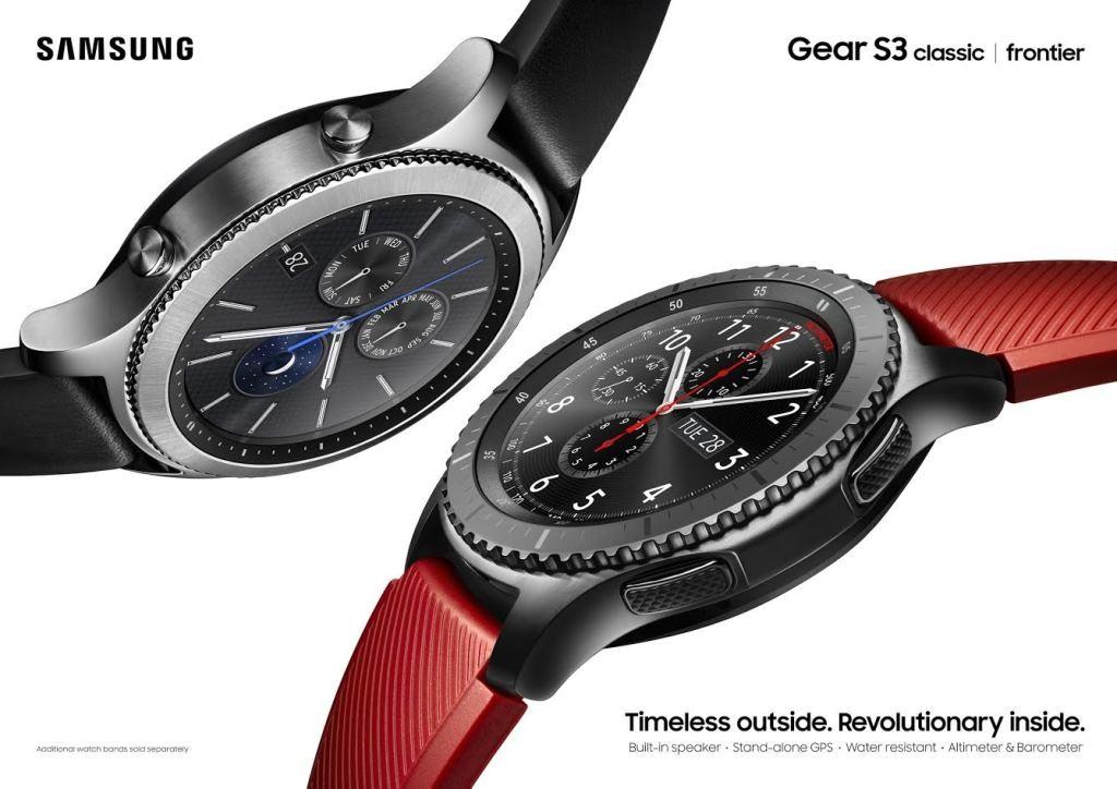 Samsung Gear S3 modeli
