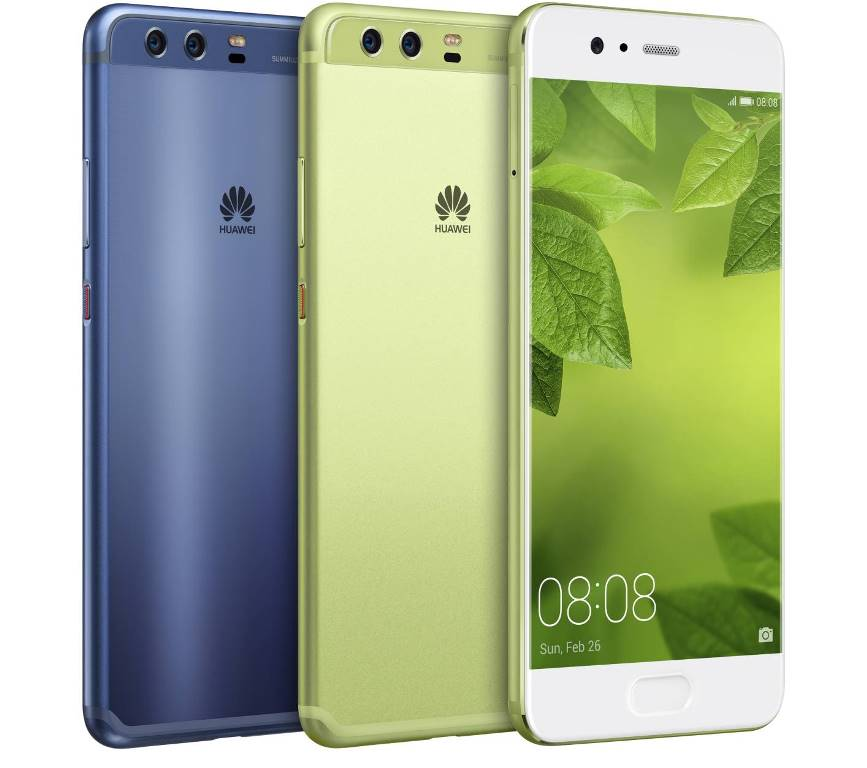 HUAWEI P10 Greenery and Dazzling Blue