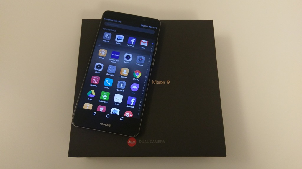 Test Huawei Mate 9
