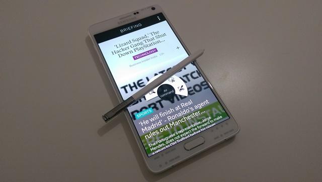 Test Samsung Galaxy Note 4