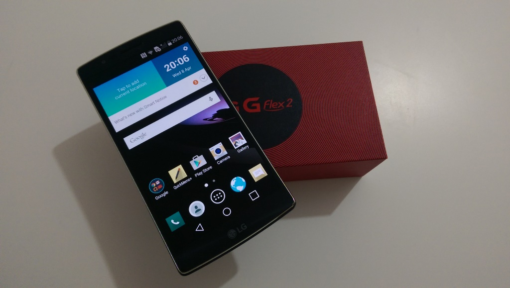 Test LG G Flex2